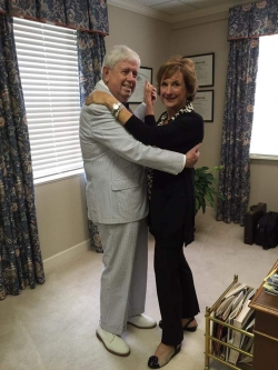Doug Stewart Dancing for a cause